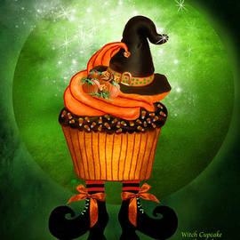 Halloween - Witch Cupcake by Carol Cavalaris