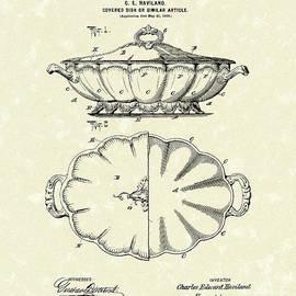 Prior Art Design - Haviland Dish Design 1900 Patent Art