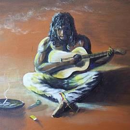 Kelvin James - Hold a meditation