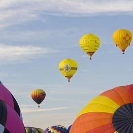 Hot Air Balloons 1 by John Zawacki