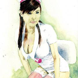 Hot Nurse by Alban Dizdari