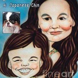 Jim Fitzpatrick - I Have a Chin  A Japanese Chin book