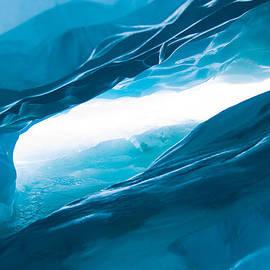 John White - Ice Cave on the Glacier