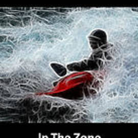 In The Zone With Caption by Bob Christopher