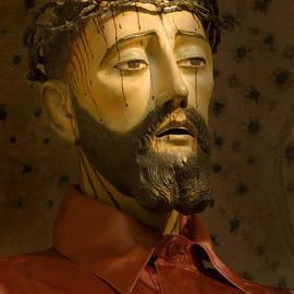 Jesus Christ San Xavier del Bac by Bob Christopher