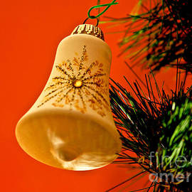 Christmas Holiday Bell by Carol F Austin