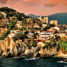 La Quebrada Cliff by Dean Wittle
