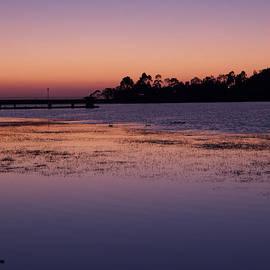 Lake Miramar Sunset 1 by Jeremy McKay