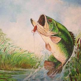 Largemouth bass by Jose Lugo