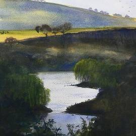 Tony Northover - Late Afternoon along the South Esk River Tasmania