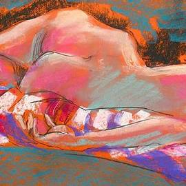 Life Drawing One by Les Leffingwell