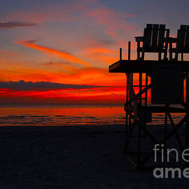 Lifeguard Off Duty by Barbara Bowen