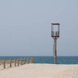 Lifeguard Tower Cabo De Gata by David Kleinsasser