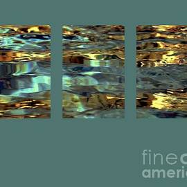 Light On Water Triptych With 24x36 In Panels by Dale   Ford