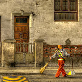 Gerry Mann - Lima Street Sweeper