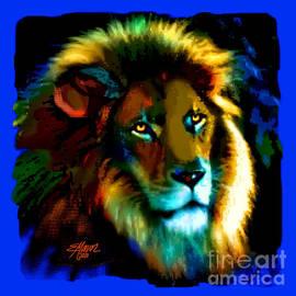 Lion Icon by Elinor Mavor