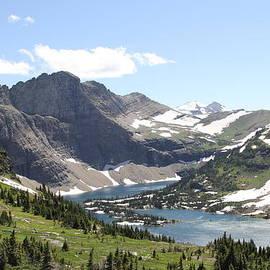 Logan Pass Glacier National Park MT by Bobbie Moller