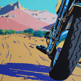 Lonesome Trail by Cheryl Fecht