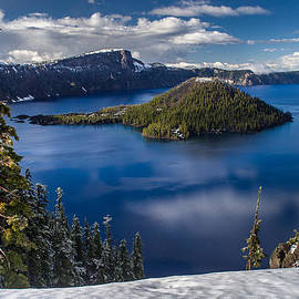 Greg Nyquist - Luminous Crater Lake