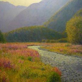 Terry Perham - Lupins Cascade Creek