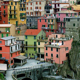 Greg Matchick - Manarola Houses on the Cinque Terre