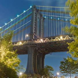 Ken Marsh - Manhattan Bridge at Dusk