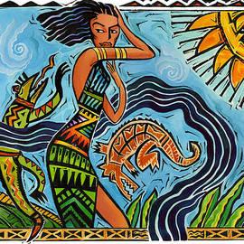 Maori Woman Dance by Shawn Shea