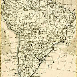 Guillaume Raynal - Map of South America