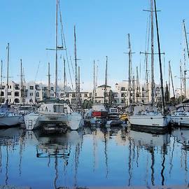 Marina At Port El Kantaoui Sousse Tunisia by Maciek Froncisz