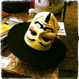 Mask. #occupywallstreet