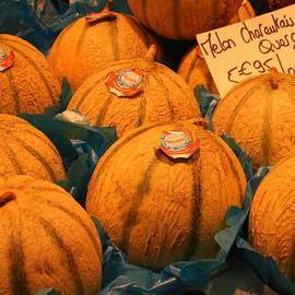Laurel Talabere - Melons at Les Halles
