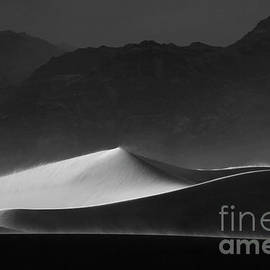Death Valley California Mesquite Dunes 15 by Bob Christopher