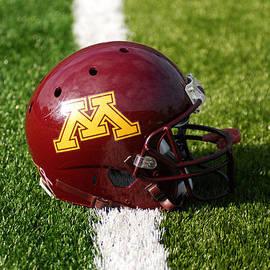 Bill Krogmeier - Minnesota Football Helmet