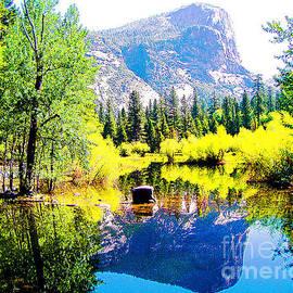 Mirror Lake Yosemite National Park by Jerome Stumphauzer