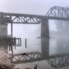 Foggy Train Trestle by Spencer McDonald
