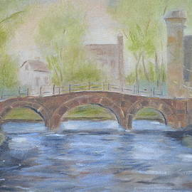 Patricia Caldwell - Morning on the Meuse