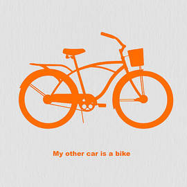 My other car is bike by Naxart Studio