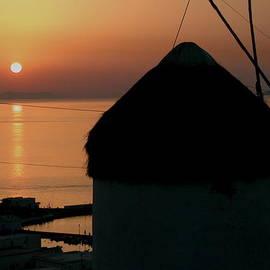 Mykonos Island Sunset Greece by Colette V Hera Guggenheim