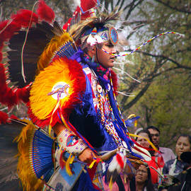 Native American Dancer One by Nancy Griswold