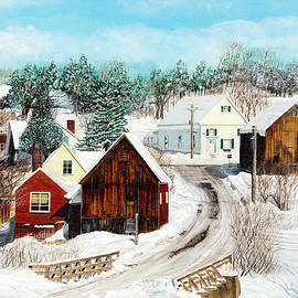 Stuart B Yaeger - New England winter