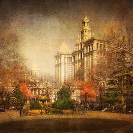 New York in April by Svetlana Sewell