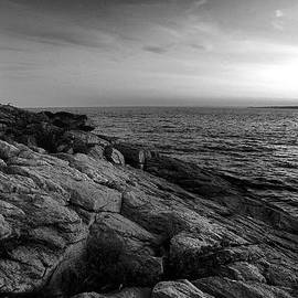 Thomas Schoeller - Newport Rhode Island-Castle Hill Black and White