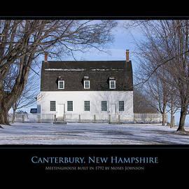 Jim McDonald Photography - NH Meetinghouse