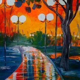 Judi Goodwin - Night Reflections