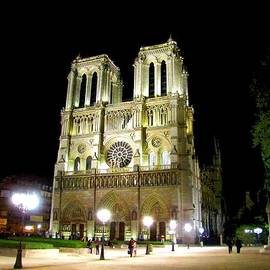 Keith Stokes - Notre Dame at Night