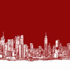 Adendorff Design - NYC in red n white