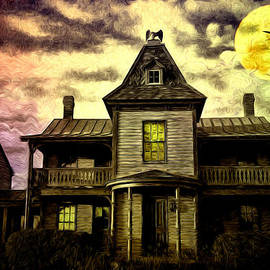 Bill Cannon - Old House at St Michael