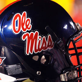 University of Mississippi - Ole Miss Football Helmet
