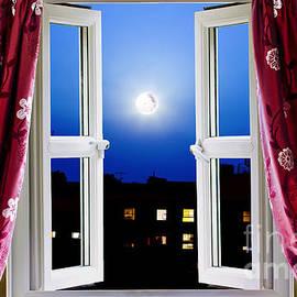 Simon Bratt Photography LRPS - Open window at night