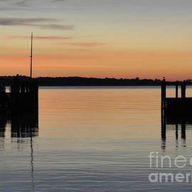 Orange September River by Meandering Photography